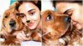 Disha Patani is a goofball with Instagram filters and pet doggo Bella
