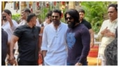 Prabhas and Yash pose together for pic at Salaar launch. Trending now
