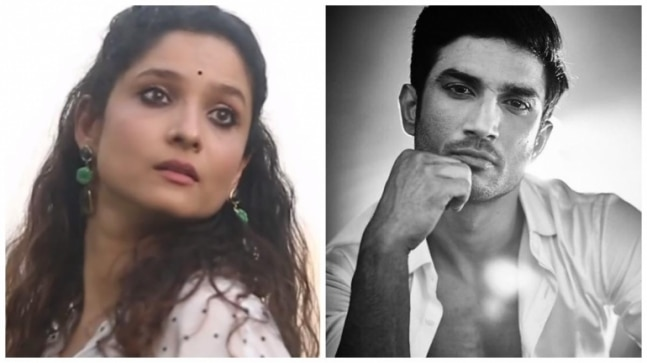 Ankita Lokhande shares video while flying kites to Sushant Singh Rajput's song Manjha