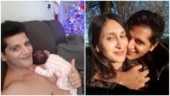 Karanvir Bohra wishes he was with wife Teejay on her birthday, shares sweet post