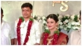 Kayal Anandhi ties the knot with Socrates in Warangal. See pics