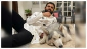 Vijay Deverakonda's latest pic with pet dog Storm is winning hearts