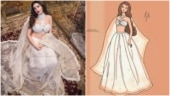 Nora Fatehi's new photoshoot is a hit. This fan art is proof