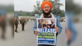 Fact Check: Placard seeking release of Kashmiri separatists is not from farmers' protest
