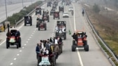 Protesting farmers take out tractor march, next round of talks today