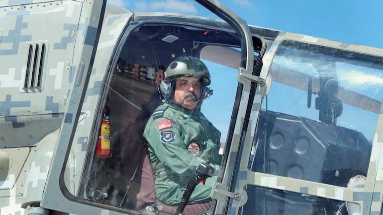 File photo of IAF chief Air Chief Marshal Rakesh Kumar Singh Bhadauria