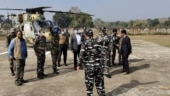 Senior security advisor in MHA visits Jharkhand's Chaibasa to review security