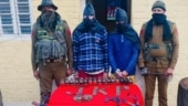 J&K: Suspected militants caught red-handed collecting arms smuggled into India by Pak drone
