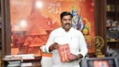 MP Speaker gifts Bengal CM Mamata Banerjee copy of Ramayana over 'Jai Shri Ram' row