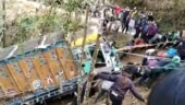 Scores of villagers pull truck out of deep gorge in Nagaland using ropes: Watch video