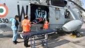 Malaysian national provided timely medical evacuation by Indian Navy off Mumbai coast