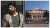 Prabhas shoots for Radhe Shyam at Falaknuma Palace in Hyderabad
