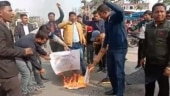 Assam students' outfit burns copies of CAA in protest months before state elections