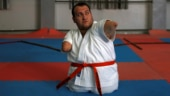 Differently-abled Gaza man conquers karate. Nothing is impossible, he says