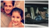 Sitara receives dad Mahesh Babu as he returns from Mumbai. See viral pics