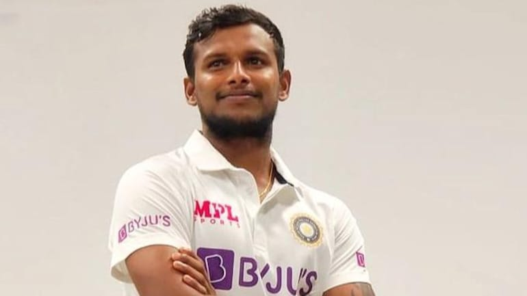 T Natarajan on Tuesday flaunted the Team India Test jersey on social media