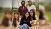 Trisha and Karthi bond with Jayam Ravi and family after Ponniyin Selvan shoot. See pics