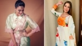 Shweta Tiwari looks stunning in a dhoti saree. Sara Khan has this to say
