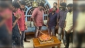 Vijay Sethupathi apologises for cutting birthday cake with sword. Trending pic
