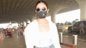 Alia Bhatt in Rs 2k crop shirt with denims and A-initial mask is effortlessly glam