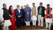 Rajib Banerjee, 4 other TMC rebels join BJP after meeting Amit Shah in Delhi