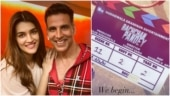 Akshay Kumar and Kriti Sanon's Bachchan Pandey goes on floors. See pic