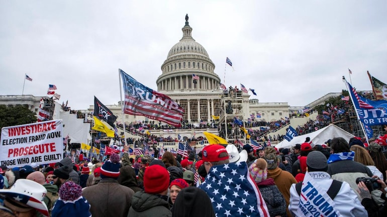 Trump supporters storm US Capitol