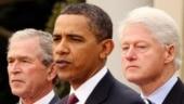 EX-US presidents Clinton, Bush and Obama record rare joint video wishing Biden success
