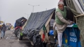 As farmers' protest cross 40 days, children, old men battle Delhi rain, cold wave but remain firm