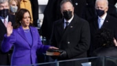 Why US Vice President Kamala Harris wore purple to her swearing-in