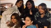 Kareena Kapoor reunites with besties Malaika and Amrita Arora, misses sister Karisma