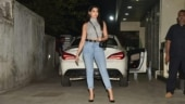 Nora Fatehi in top and denims with Rs 87k mini bag is ultra-chic on day out