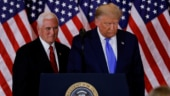 Surrounded by shrinking circle of aides, a brooding Trump targets Vice President Pence