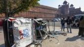 Red Fort violence: Lahori Gate vandalised, parts of minar missing, says Tourism minister