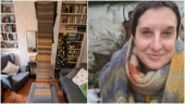 Woman turned 2020 into art project by knitting 3m scarf with 1kg wool. She is not alone