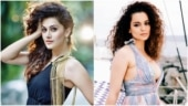Taapsee Pannu hits back at Kangana Ranaut for impersonating jibe. See tweet