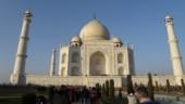 Huge crowd at Taj Mahal as ticket windows reopen