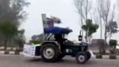 WATCH | Punjab farmer drives tractor to Delhi in reverse gear to take part in Republic Day rally