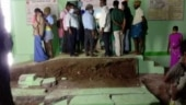 Ramp wall collapses during Amma clinic inauguration, Tamil Nadu minister escapes unhurt | Watch