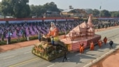 Uttar Pradesh's R-Day tableau showcasing Ayodhya Ram temple replica bags first prize
