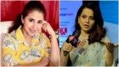Urmila Matondkar attacks Kangana Ranaut, asks her to reveal Bollywood drug list