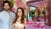 Varun Dhawan and Natasha Dalal's wedding venue decor revealed. Inside pics