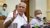 Karnataka CM BS Yediyurappa expands cabinet, faces backlash from party MLAs