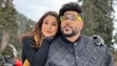 Badshah shares pic with Shehnaaz Gill from Kashmir, says Ye ladki pagal hai
