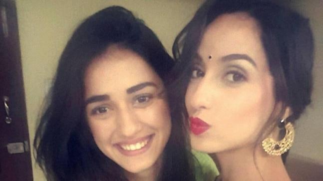 When Disha Patani helped Nora Fatehi drape a saree. See throwback pic - India Today
