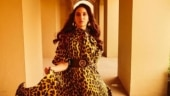 Nora Fatehi looks majestic in leopard-print dress. Fans can't keep calm