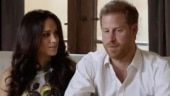 Meghan Markle and Harry make surprise appearance after pregnancy announcement. Watch