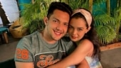 Aditya Narayan's adorable new pic with wife Shweta is all about couple goals