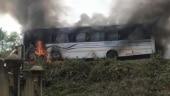 Bus catches fire in Assam's Sivasagar, 35 passengers escape unhurt