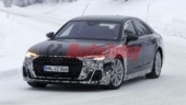 2022 Audi A8 facelift pre-production model spotted testing